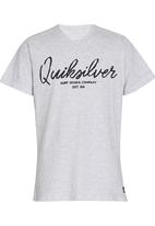 Quiksilver - Double Barrel Boys Tee Grey