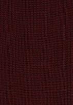 Rebel Republic - 2 Tone Knit Jumper Blue