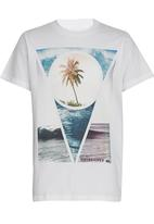 Quiksilver - Section Boys Tee White