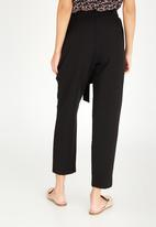 Pieces - Albia High Waist Pants Black