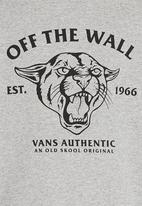 Vans - Printed Sweater Grey