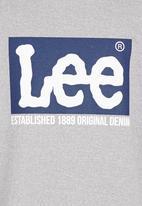 Lee  - Square Lee Sweat Top Grey