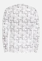 cleverdic - Printed Cassette Vest White