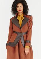Sober - Oxford Wool-like Jacket Rust