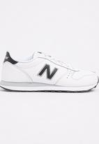 New Balance  - Classic Running Black and White