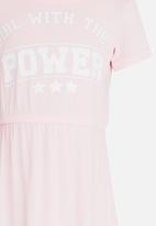 See-Saw - Jersey Maxi Dress Pale Pink