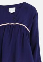 See-Saw - Boho Blouse Navy