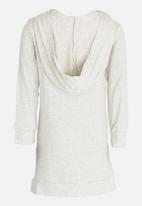 See-Saw - Hooded Dress Mid Grey