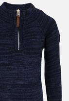 See-Saw - Zip Detail Pullover Navy