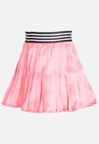 See-Saw - Pleated Skirt Pale Pink