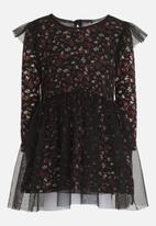 See-Saw - Mesh Dress Black