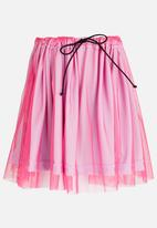 See-Saw - Tulle Skirt Mid Pink