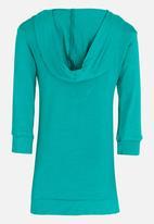 See-Saw - Hooded Dress Green