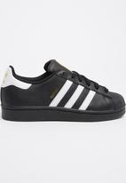 adidas Originals - Superstar foundation sneaker - black