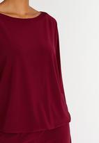 Isabel de Villiers - 5 Way Jumpsuit Burgundy