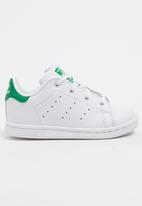 adidas Originals - Kids Stan smith - white & green