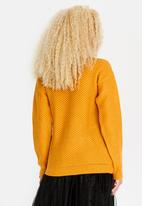 STYLE REPUBLIC - Lace-up Detail Jersey Yellow
