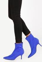 STYLE REPUBLIC - Sock Boots Blue