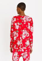 Slick - Casey Pocket Detail Top Red