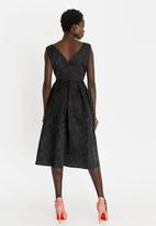 G Couture - Fit and Flare Dress Black