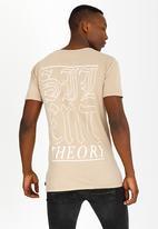 Silent Theory - Rocksteady Cotton Tee Beige