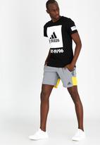 adidas Performance - 360 Adi Tee Black and White