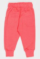 MINOTI - Basic Fleece Joggers Coral