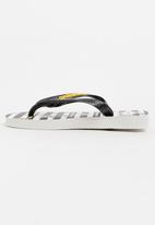 Havaianas - Kids minions  sandals - black and white