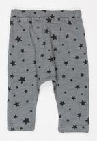 MINOTI - Super AOP Fleece Jogger Grey
