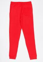 MINOTI - Basic Printed Joggers Red