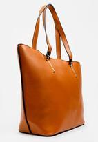 BLACKCHERRY - Shopper Bag Tan