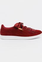 PUMA - Puma Vikky Ribbon Sneakers Red