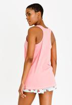 Brave Soul - Melon Pyjama Set Mid Pink