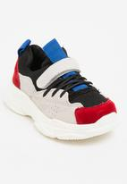 POP CANDY - Lace Up Sneaker Red