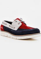 Tommy Hilfiger - Case Lace- Up Shoes Navy