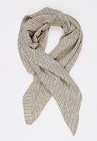 STYLE REPUBLIC - Printed Neck Tie Grey Melange