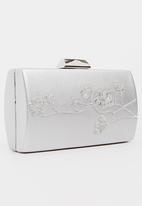BLACKCHERRY - Oriental Clutch Bag Silver