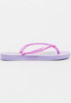 Havaianas - Kids slim princess sofia sandals - purple