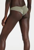 Roxy - Jungle Flower Mini Bikini Bottom Khaki Green