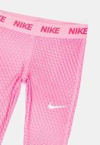 Nike - Nike Dri-Fit Performance AOP Leggings Mid Pink