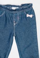 POP CANDY - Elasticated Jeans Blue