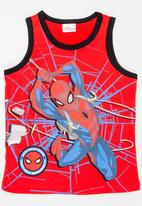 POP CANDY - Printed Spider Man Vest Red