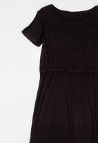 See-Saw - Jersey Maxi Dress Black
