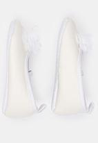 POP CANDY - Girls Glitter Pumps White