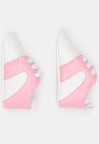 POP CANDY - Girls PU Sneaker Pale Pink