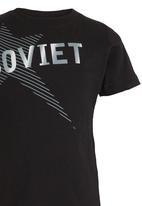 SOVIET - Beagles Tee Black
