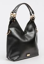 Miss Black - Dakota Structured Tote Bag Black