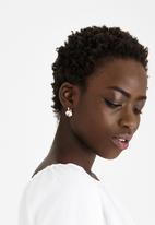 Joy Collectables - Diamante Drop Earrings Gold