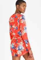 Rip Curl - Eastern Nights Playsuit Red