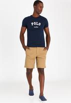 POLO - Classic printed tee - navy
